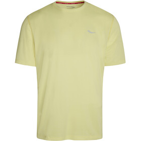 saucony Stopwatch Short Sleeve Men, sunny lime